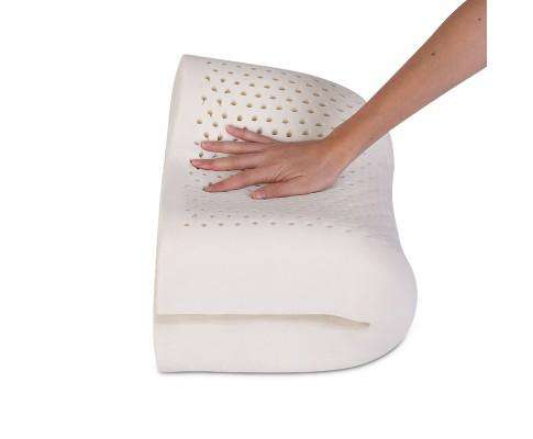 Giselle Bedding Set of Two Curved Natural Latex Pillow