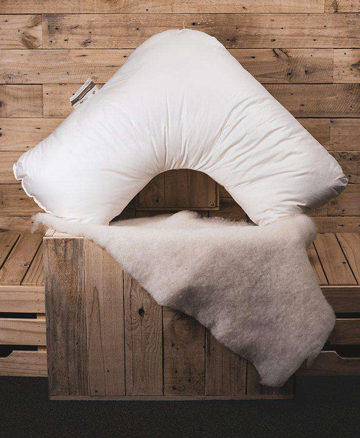 Aussie Wool Comfort 100% Wool TRI Pillow