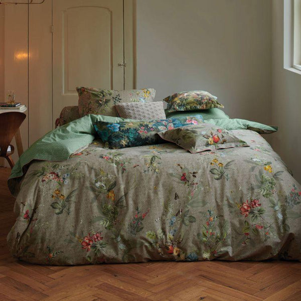 Pip Studio Fall In Leaf Khaki Quilt Cover Set