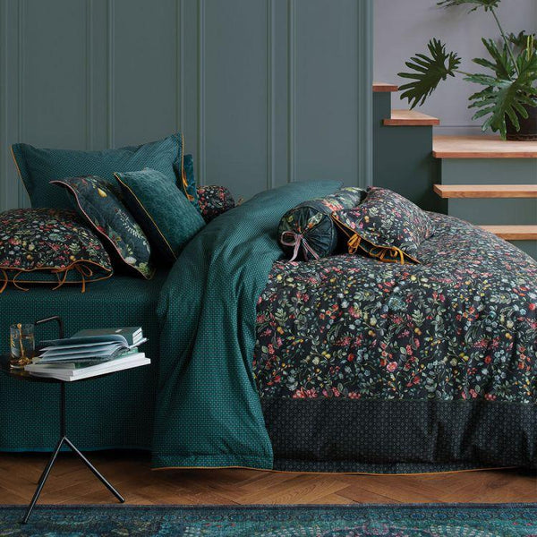 Pip Studio Midnight Garden Green  Quilt Cover Set