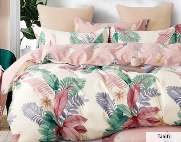 Odyysey Living Tahiti Cotton Quilt Cover Set