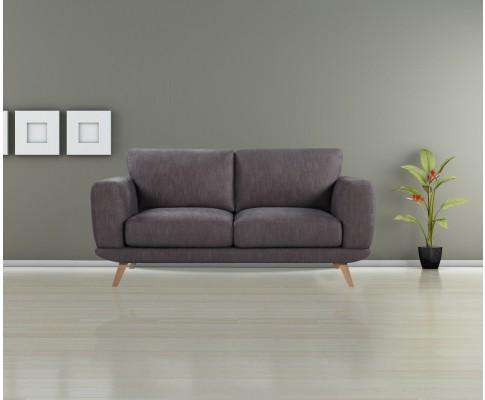 Melbournians Furniture Modern Stylish Brown Alaska Sofa 2 Seater