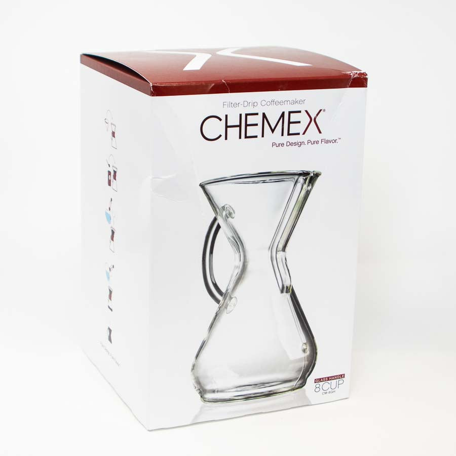 Chemex Glass Handle 8 Cup (With Filters)