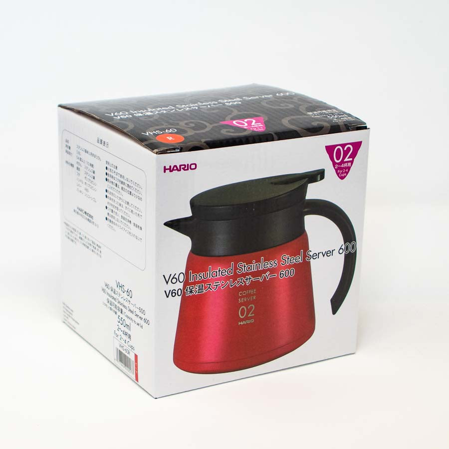 V60-02 Insulated Stainless Steel Server