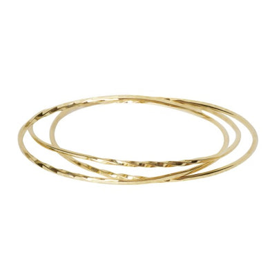 Quinn Twist Bangle Set