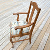 Boat Print Arm Chair