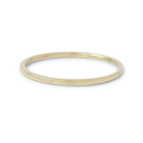 Quinn Thin Ring in Bronze