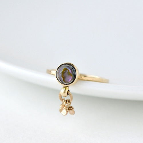 Dazzler Ring in Abalone