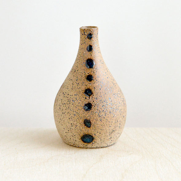 Bud Vases Dots and Swirls