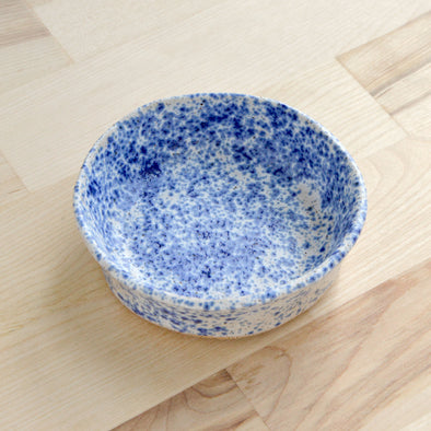 Blue Speckled Dish