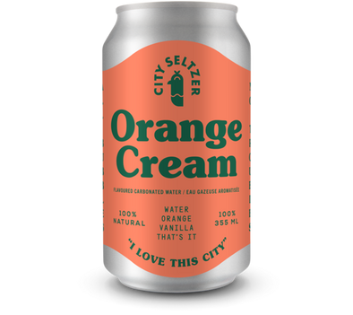 Orange Cream Seltzer