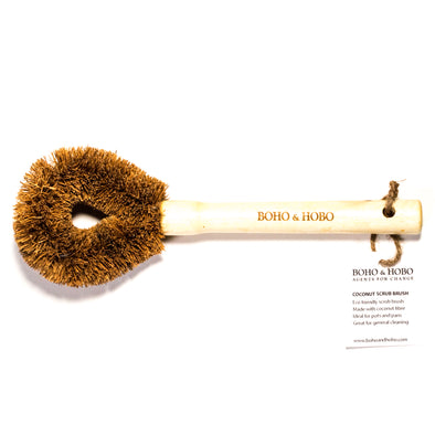 Coconut Scrub Brush