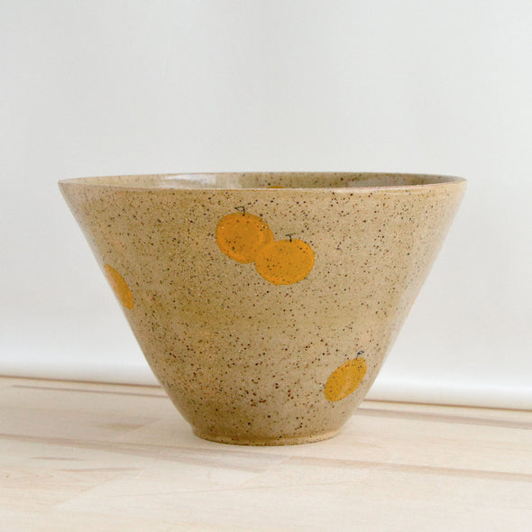 Tangerine Cereal Bowl