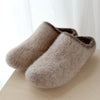 Hand Knit Felted Slippers Womens 8/9