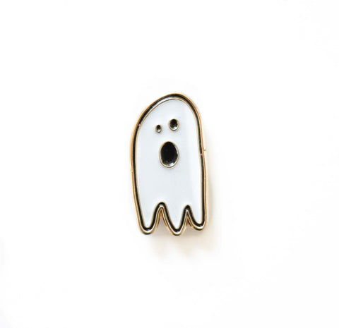 Ghost Enamel Pin