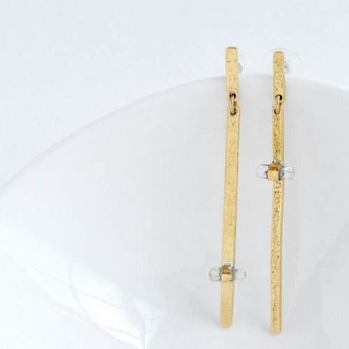 Stick and Stone Earrings