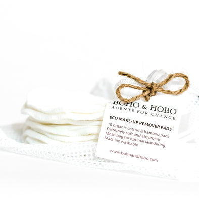 Cotton and Bamboo Make-up Remover Pads