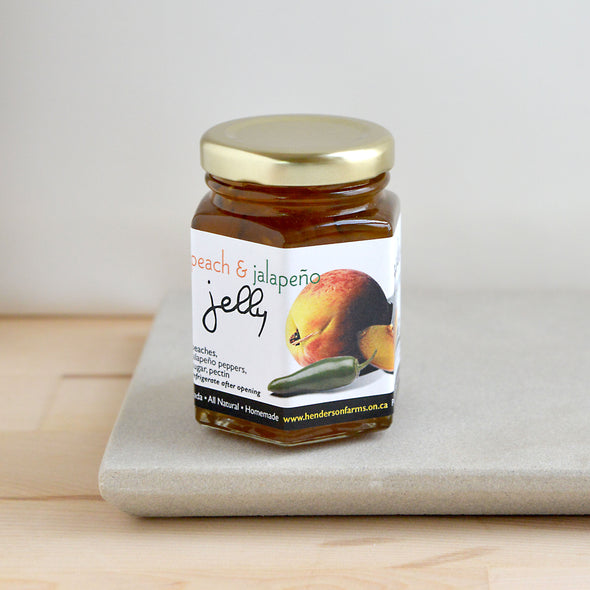 Peach and Jalapeno Jelly