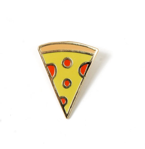 Pizza Slice Enamel Pin