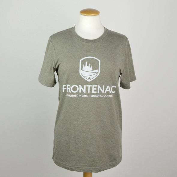Frontenac Crew Neck Shirts in Green