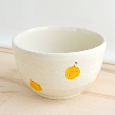 Small Tangerine Bowl