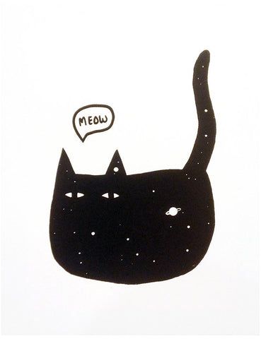 Space Cat II Print