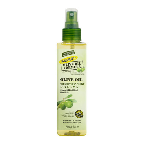 Palmer's Olive Oil Formula Olive Oil Weightless Shine Dry Oil Mist 178ml