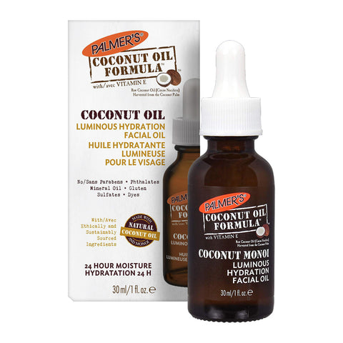 Palmer's Coconut Oil Formula Coconut Monoi Luminous Hydration Facial Oil 30ml