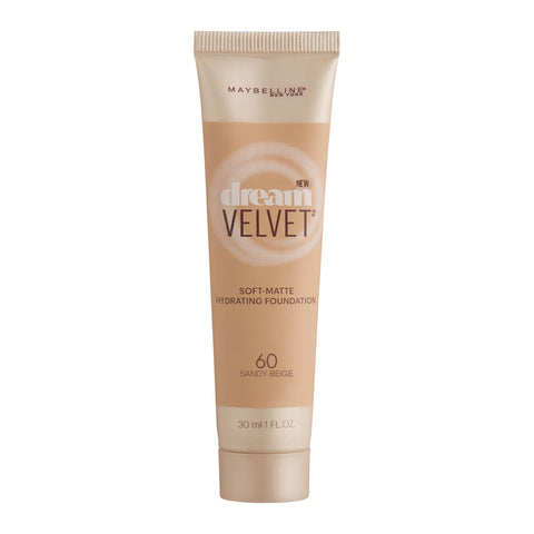 Maybelline Dream Velvet Soft-Matte Hydrating Foundation 30ml 60 SAND BEIGE