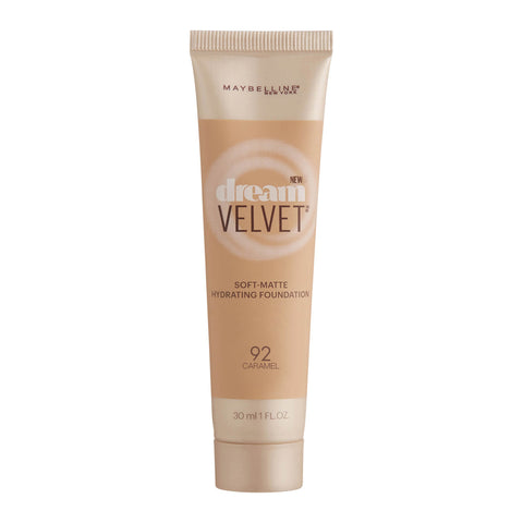 Maybelline Dream Velvet Soft-Matte Hydrating Foundation 30ml 92 CARAMEL