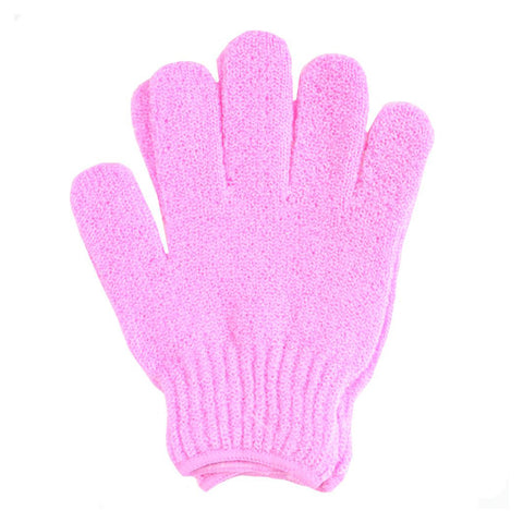 Exfoliating Gloves - PINK