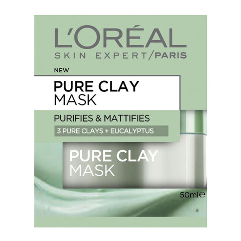 L'Oréal Pure Clay Purifying Mask 50ml
