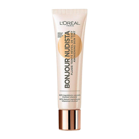 L'Oreal Bonjour Nudista Skin Tint 30ml 04 MEDIUM DARK