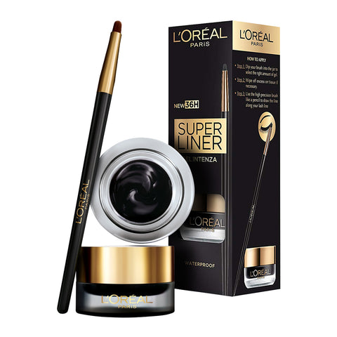 L'Oreal 36H Superliner Gel Intenza Eyeliner 01 BLACK