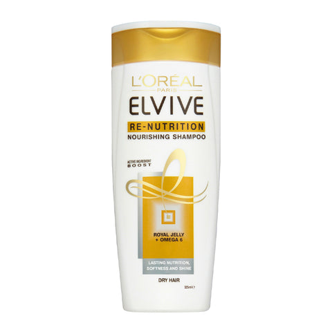 L'Oreal Elvive Re-Nutrition Nourishing Shampoo 325ml