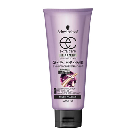 Schwarzkopf Extra Care Serum Deep Repair Wash-out Intensive Treatment 200ml