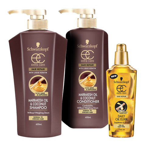 Schwarzkopf Extra Care Marrakesh Oil & Coconut 3pc Value pack