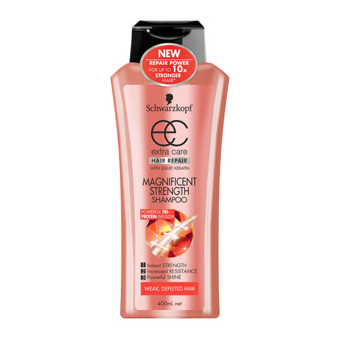 Schwarzkopf Extra Care Magnificent Strength Shampoo 400ml