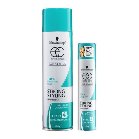 Schwarzkopf Extra Care Strong Styling - Extra Strong Hold 400g + bonus 100g