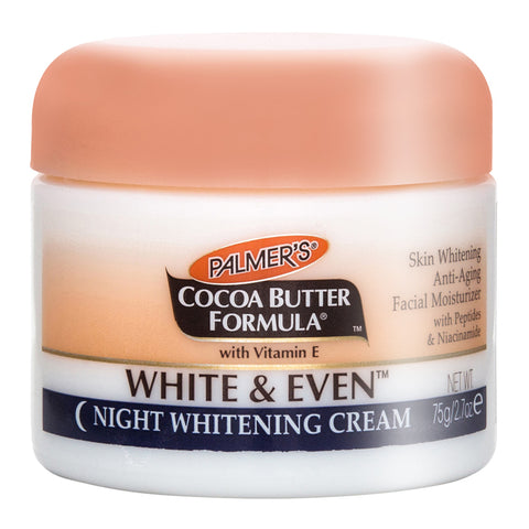Palmer's Cocoa Butter Formula White & Even Night Whitening Cream 75g