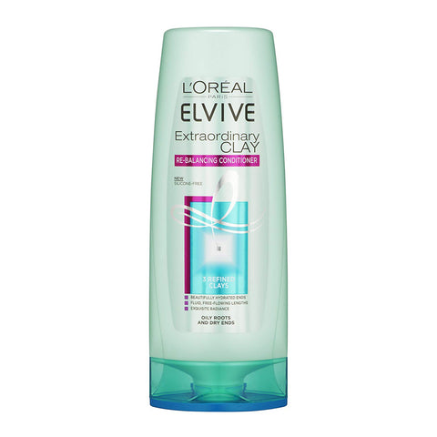L'Oreal Elvive Extraordinary Clay Rebalancing Conditioner 250ml