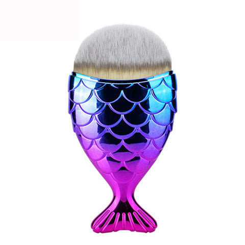 Mermaid Tail contour brush - RAINBOW