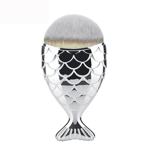 Mermaid Tail contour brush - SILVER