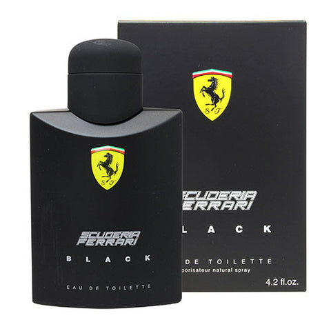 Scuderia Ferrari Black EDT 125ml Spray
