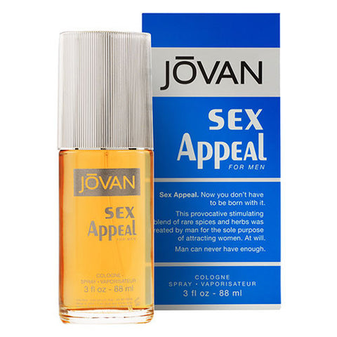 Jovan Sex Appeal for Men EDC 88ml Spray