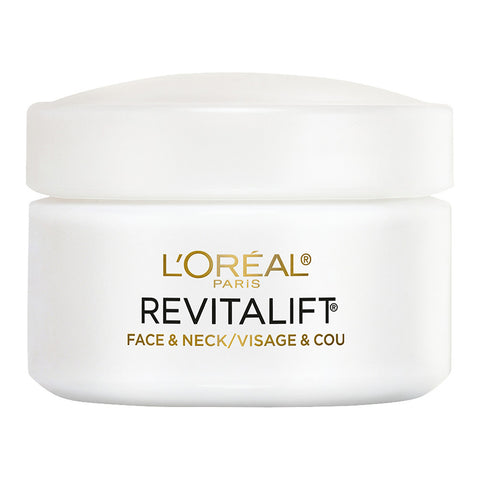 L'Oreal Revitalift Face & Neck Moisturiser Day Cream 48g