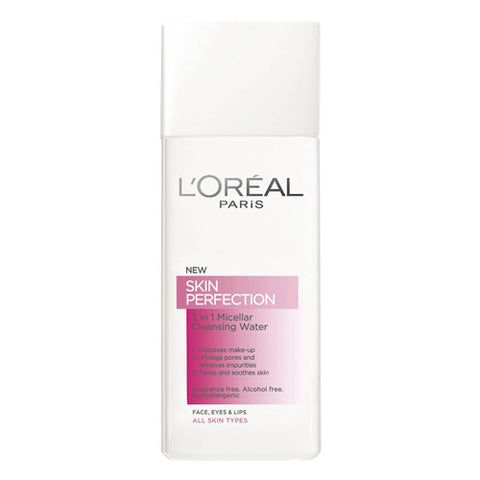 L'Oreal Skin Perfection 3-in-1 Micellar Cleansing Water 200ml