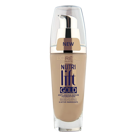 L'Oreal Nutri Lift Gold Anti-Aging Serum Foundation 170 BEIGE GLOW