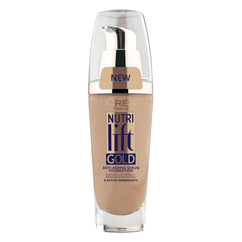 L'Oreal Nutri Lift Gold Anti-Aging Serum Foundation 180 GOLDEN BEIGE