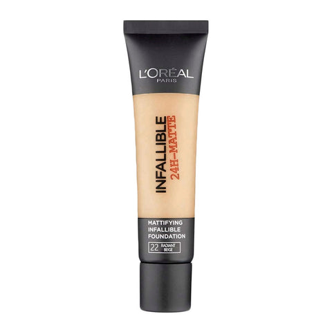 L'Oreal Infallible 24H-Matte Foundation 22 RADIANT BEIGE